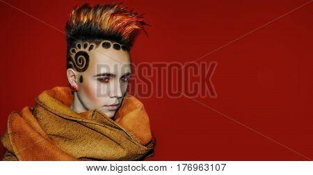 Photo Model haircut hairstyle hair tattoo Space solar