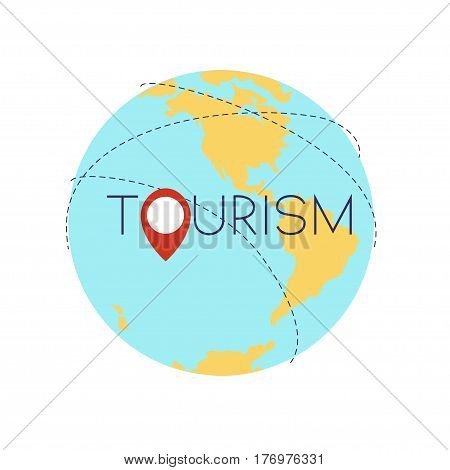 World Wide Tourism Concept