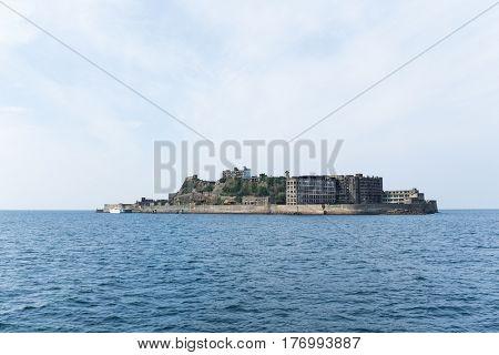 Hashima Island in Nagasaki