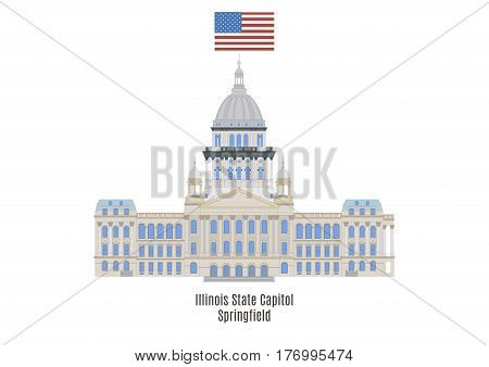 Illinois State Capitol, Springfield, United States Of America