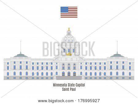 Minnesota State Capitol, Saint Paul, United States Of America