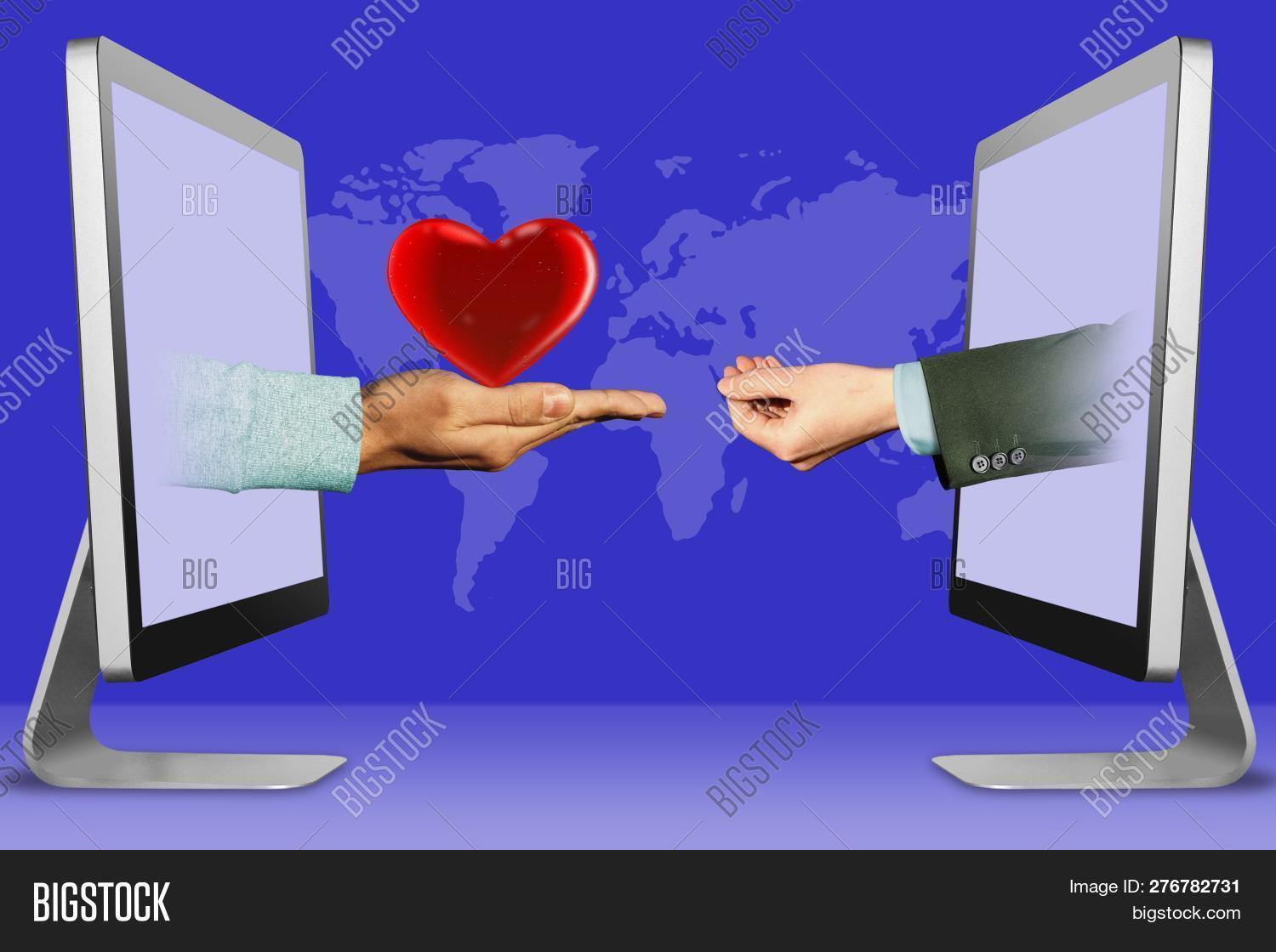 Online Concept, Hands Image & Photo (Free Trial) | Bigstock