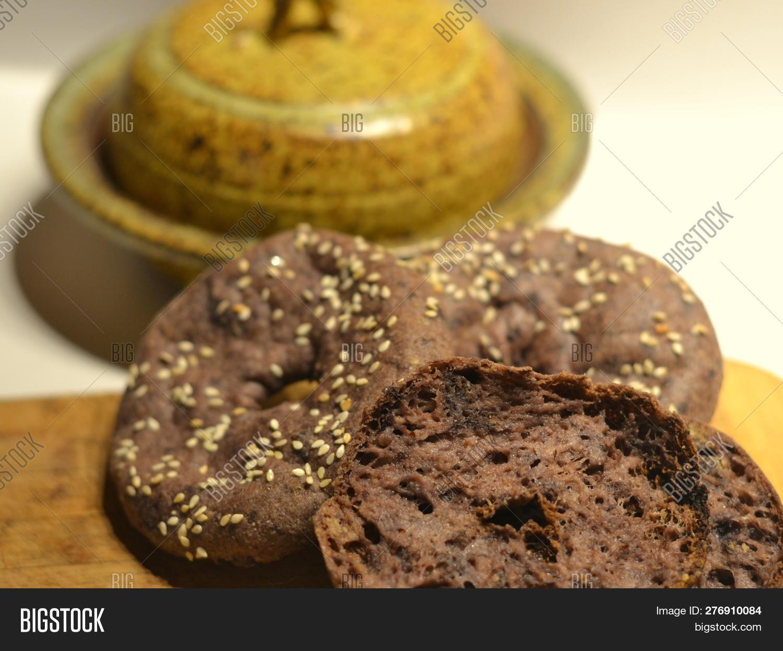 Vegan Bagel Made Using Image & Photo (Free Trial) | Bigstock