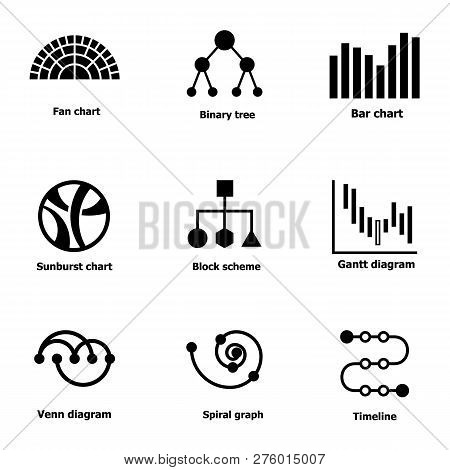 Pictorial Icons Set. Simple Set Of 9 Pictorial Icons For Web Isolated On White Background