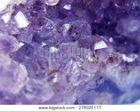 Amethyst Gem Crystal Quartz Mineral Geological Background