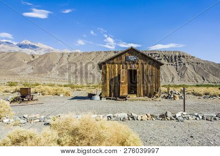Jailhouse Of Ballarat, A Ghost Town In Inyo County, California That Was Founded In 1896 As A Supply