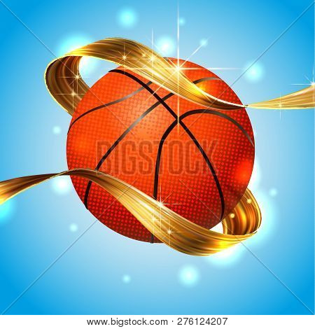 Basketball Ball Text Vector & Photo (Free Trial) | Bigstock