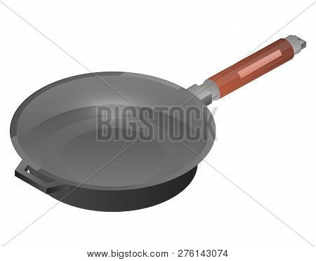 Kitchen Griddle Icon. Isometric Of Kitchen Griddle Icon For Web Design Isolated On White Background