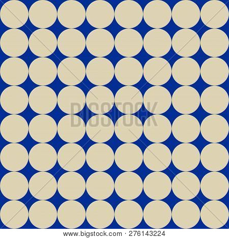 Seamless Texture With Dots. Template For Craft Paper, Wallpaper, Wrapping Paper, Fabric.