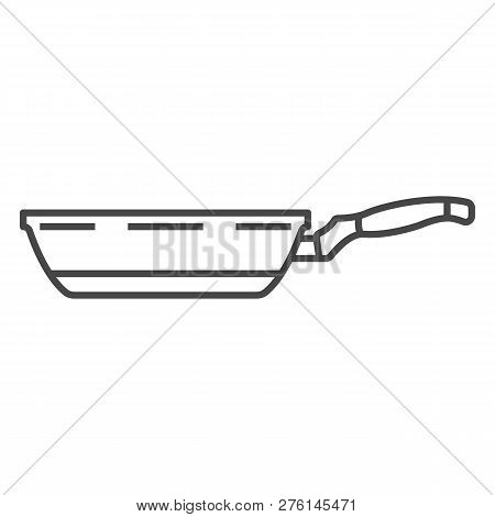 Griddle Pan Icon. Outline Griddle Pan Icon For Web Design Isolated On White Background