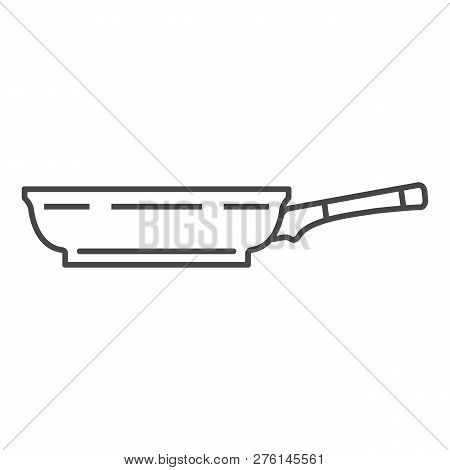 Side Of Griddle Icon. Outline Side Of Griddle Icon For Web Design Isolated On White Background