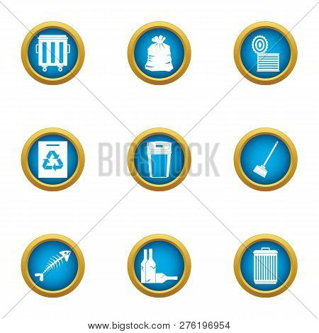 Withdrawal Icons Set. Flat Set Of 9 Withdrawal Icons For Web Isolated On White Background