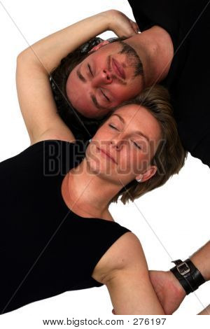 Isolated Couple Sleeping