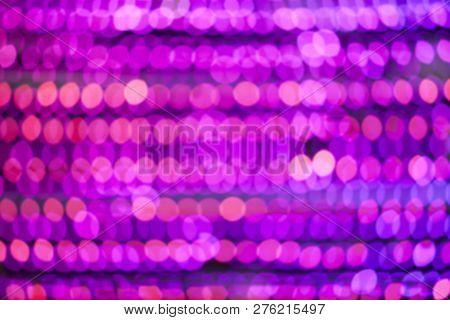 Abstract Blur Bokeh Background Of City Night Lights,light Bokeh Circular.