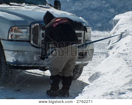 Homemade Snow Plow