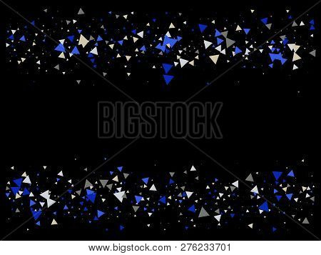 Bang, Burst, Moved Particles, Vector Explosion Background. Broken Glass Moving Memphis Bright Fragme
