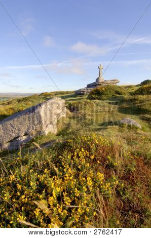 Dartmoor Memorial Stone Cross