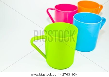 The Colorful Plastic Cups