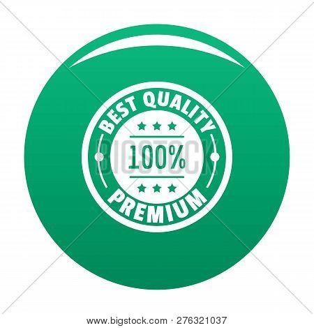 Best Offer Logo. Simple Illustration Of Best Offer Logo For Any Design Green