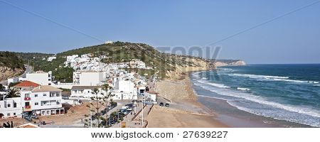 Salema at the southcoast from Portugal