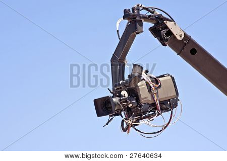 Professional digital video camera equipment