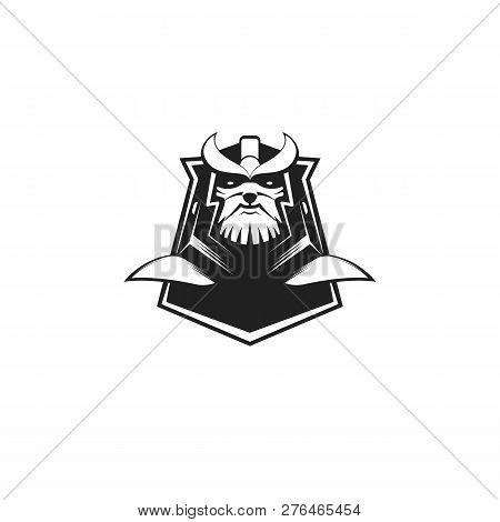 Modern Professional Titan Logo Design Template For A Sport Team - Vector