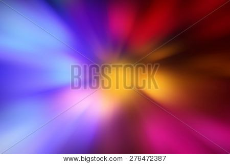 Zoom, Blue Pink Light Zoom Effect Background, Colorful Radial Gradient Effect Digital Lighting Power