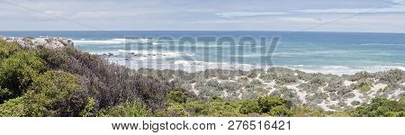 This Is A Landscape Of The Dunes At Seal Bay On Kangaroo Island.  It Was A Cold Windy Day With Rough