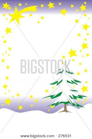 Sternbaum- Christmas Theme Background