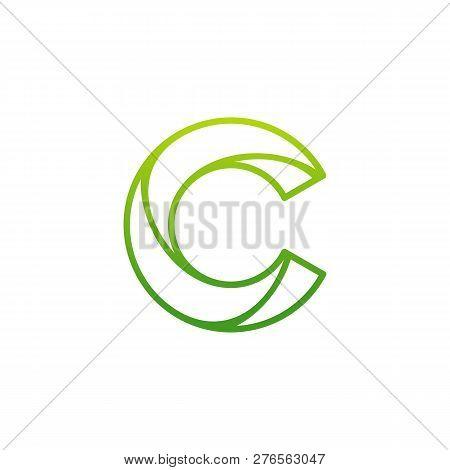 Letter C Logo Icon Design Template Elements, Initial C Logo Design Concept - Vector