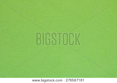 Texture Of Light Green Sponge, Abstract Background