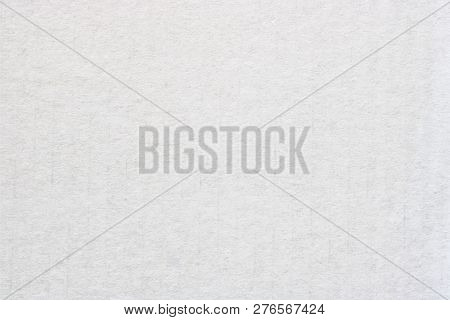 White Cardboard Texture Or Watercolor Paper Background