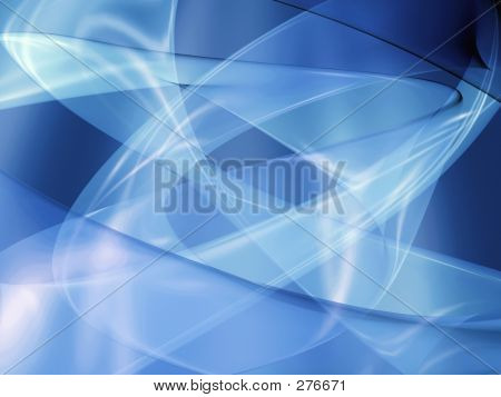 Rastro resplandor azul