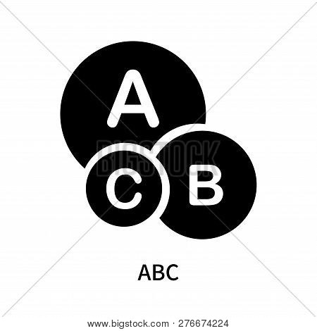 Abc Icon Isolated On White Background. Abc Icon Simple Sign. Abc Icon Trendy And Modern Symbol For G