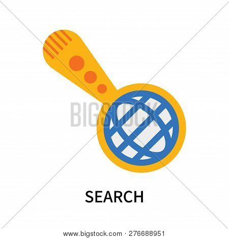 Search Icon Isolated On White Background. Search Icon Simple Sign. Search Icon Trendy And Modern Sym