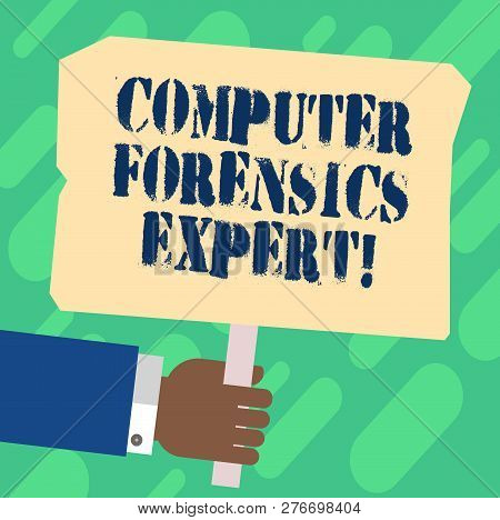 Handwriting Text Computer Forensics Expert. Concept Meaning Harvesting And Analysing Evidence From C