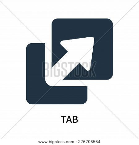 Tab Icon Isolated On White Background. Tab Icon Simple Sign. Tab Icon Trendy And Modern Symbol For G