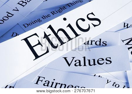 A Conceptual Look At Ethics In Words