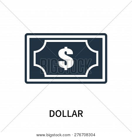 Dollar Icon Isolated On White Background. Dollar Icon Simple Sign. Dollar Icon Trendy And Modern Sym