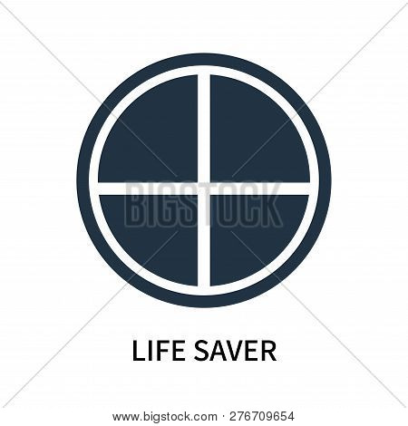 Life Saver Icon Isolated On White Background. Life Saver Icon Simple Sign. Life Saver Icon Trendy An