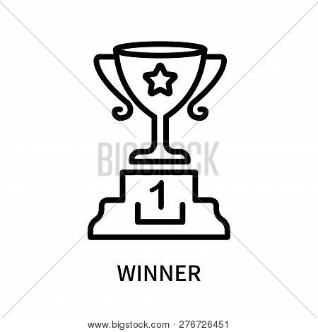 winner icon isolated vector photo free trial bigstock winner icon isolated vector photo