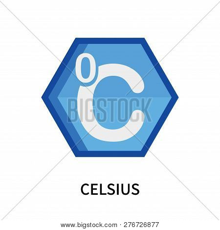 Celsius Icon Isolated On White Background. Celsius Icon Simple Sign. Celsius Icon Trendy And Modern