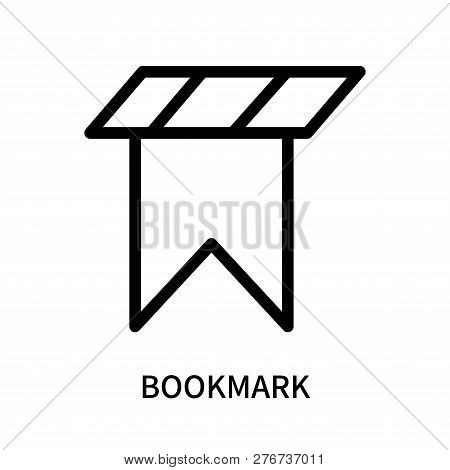 Bookmark Icon Isolated On White Background. Bookmark Icon Simple Sign. Bookmark Icon Trendy And Mode