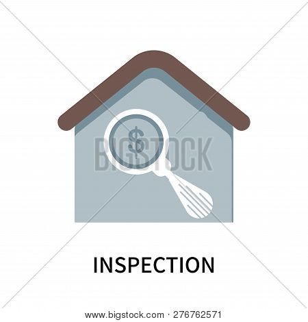 Inspection Icon Isolated On White Background. Inspection Icon Simple Sign. Inspection Icon Trendy An