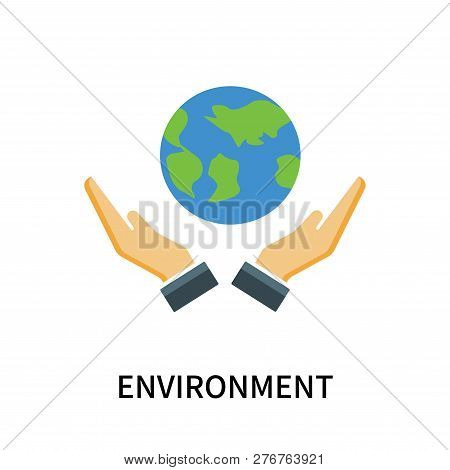 Environment Icon Isolated On White Background. Environment Icon Simple Sign. Environment Icon Trendy