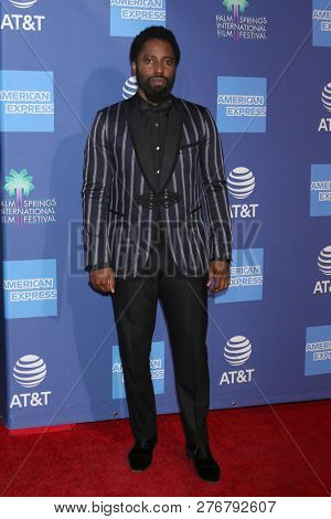 PALM SPRINGS - JAN 17:  John David Washington at the 30th Palm Springs International Film Festival Awards Gala at the Palm Springs Convention Center on January 17, 2019 in Palm Springs, CA