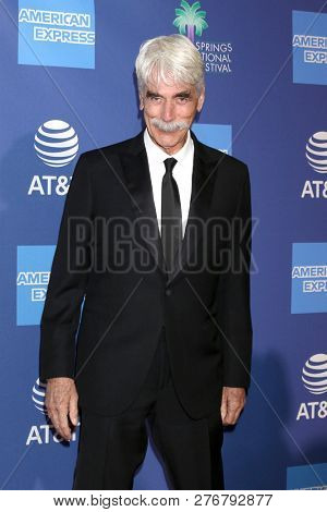 PALM SPRINGS - JAN 17:  Sam Elliott at the 30th Palm Springs International Film Festival Awards Gala at the Palm Springs Convention Center on January 17, 2019 in Palm Springs, CA