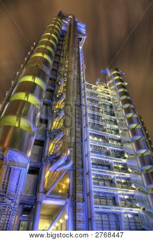 Lloyds Building At Night