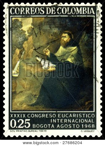 Vintage  Postage Stamp. St. Augustin.