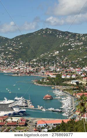 Caribbean Scenery From The Island Of St Thomas, Us Vorgin Islands